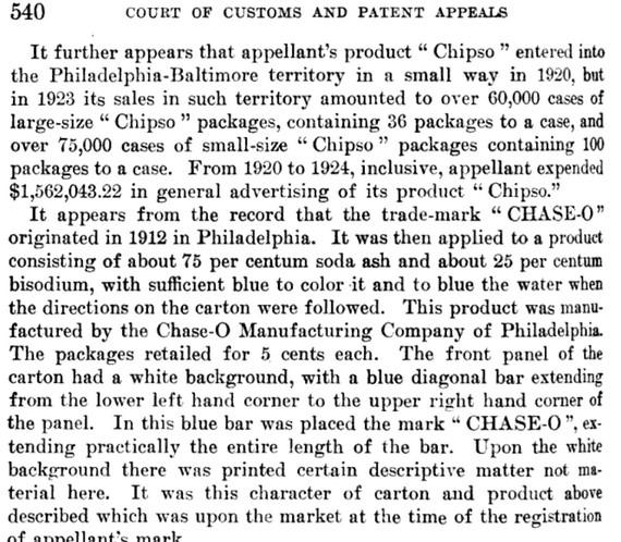 Lawsuit over trademark excerpt