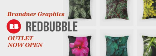Brandner Graphics now open on Redbubble