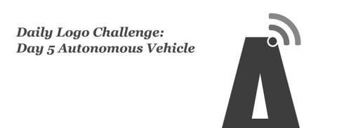 Brandner Graphics Daily Logo Challenge Day 5 Autonomous Vehicle