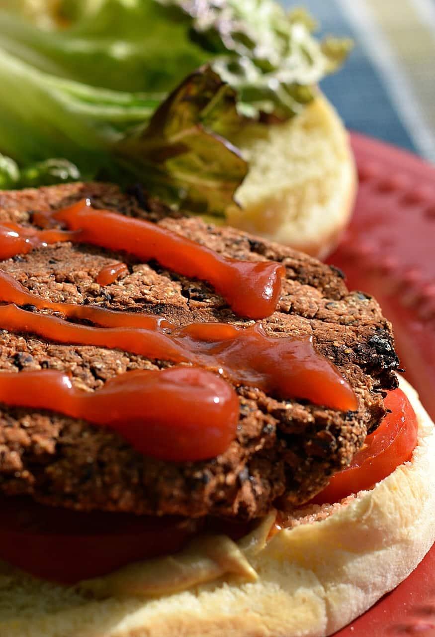 Spicy Southwestern Black Bean Burgers - Brand New Vegan