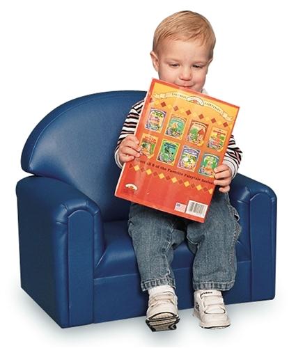 foam toddler chair vintage high back vinyl upholstery