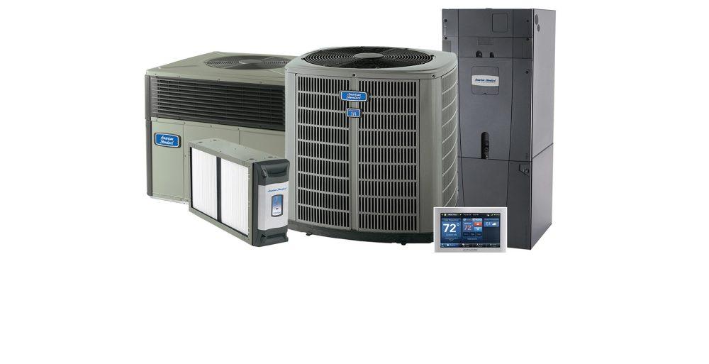medium resolution of american standard brand of air conditioning equipment dealer hvac equipment family photo