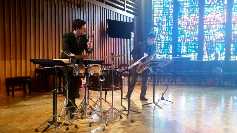 Arvay/Younglove Duo at the International Saxophone Symposium