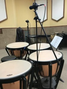 Mic Positions for Recording Timpani featuring