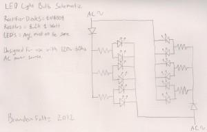 » Simple diy LED light bulb Brandon Foltz