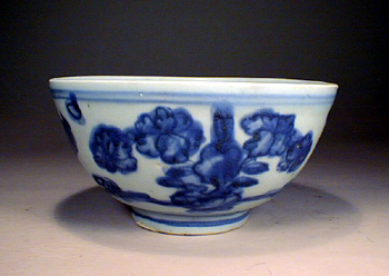 Blue & White Bowl, Ming Dynasty