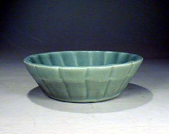 Carved Celadon Washer, Yuan Dynasty