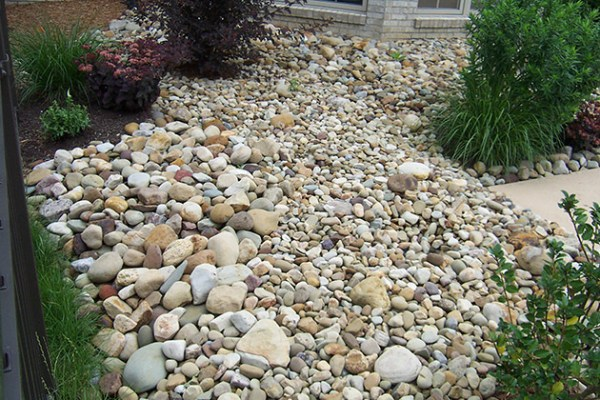 rock landscaping brandon landscape