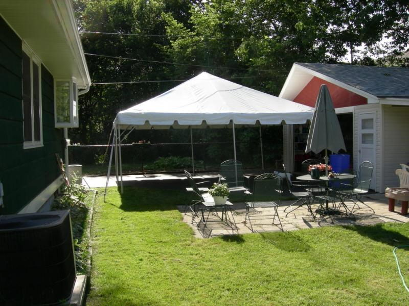 sailcloth beach chairs fabric rocking living room furniture 20 x frame canopy rentals tampa fl, where to rent in brandon florida ...