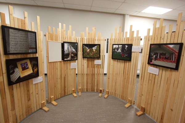 Exhibit Reflects Aboriginal Youth Leadership