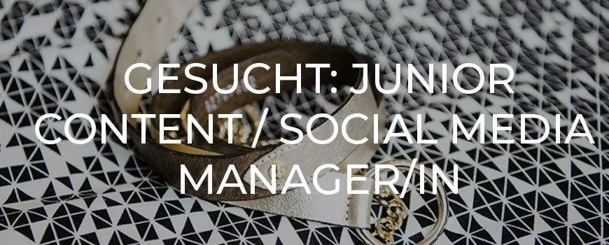 Junior Content/Social Media Manager/in 
