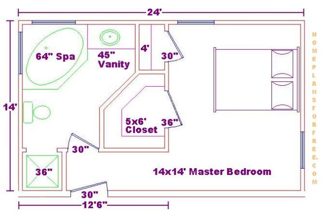 Master Bedroom With Bathroom And Walk In Closet master bedroom bathroom closet : brightpulse