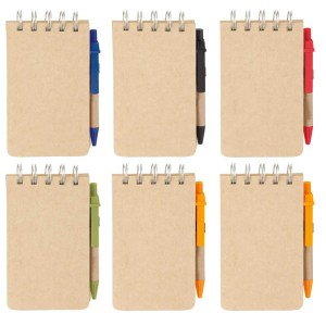 Pen ,spiral note pad