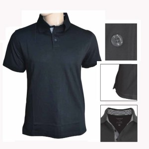 Dryncool polo shirts with stripes