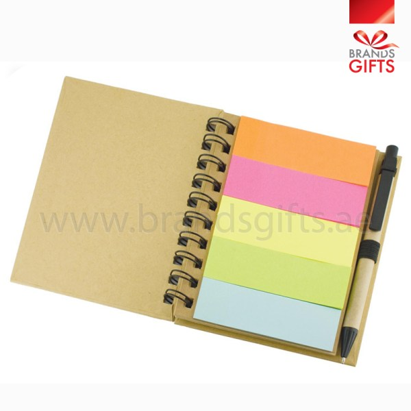 sticky note with pen custom office items brands gifts