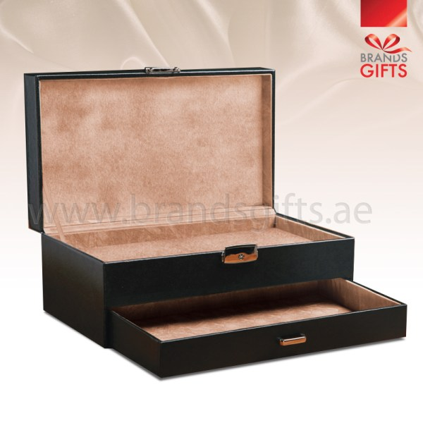 Jewelry Box Luxury Custom Leather And Velvet Boxes Dubai Uae