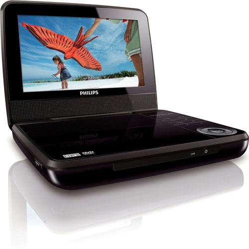 Philips 7 Portable DVD Player PET741M37 BrandsMart USA