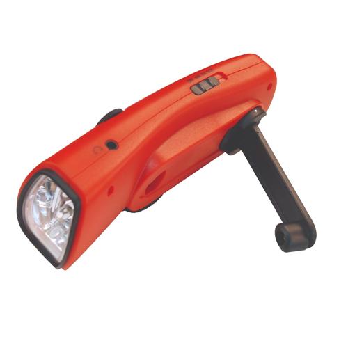 Hand-Cranked Flashlights and Lanterns