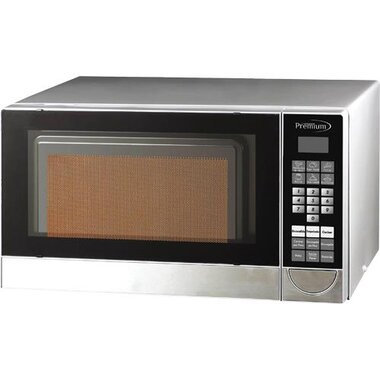 0 7 cuft 700 watts stainless steel countertop microwave