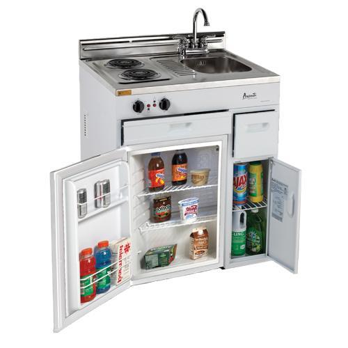 Avanti CK3016 22 CuFt Compact Kitchen 2 Shelves