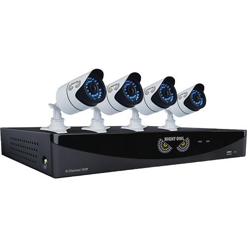 Night Owl F9 81 4930 4 Camera 8 Channel Video Security