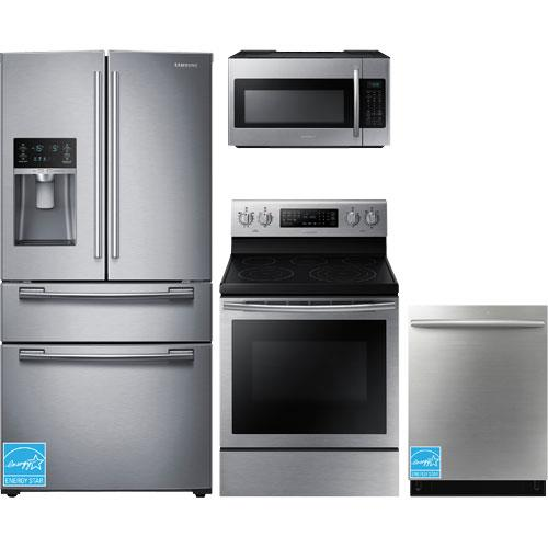 Samsung RF25HMEDBSR Stainless Steel Complete Kitchen