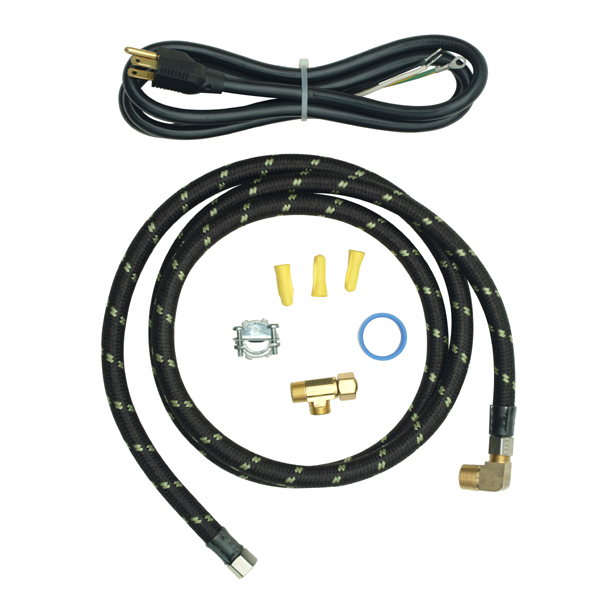 Whirlpool 8212488RC 6' Braided Dishwasher Install Kit