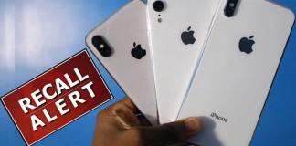 Apple mass recall