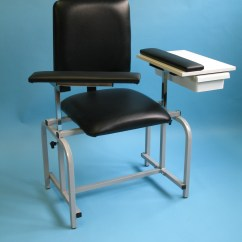 Office Chair Armrest Mainstays Rocking Brandt Industries - Chairs Blood Collection Drawing Upholstered Seat With Drawer