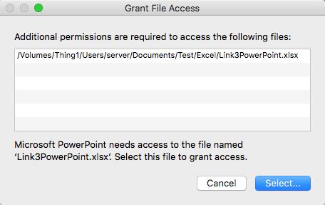 Fix Broken PowerPoint Links - Absolute Path Warning 1