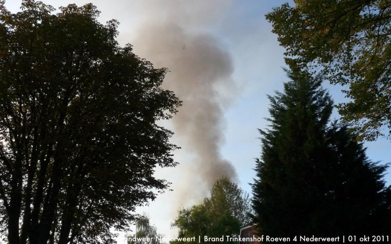 Foto's Zeer Grote Brand Nederweert Hennepkwekerij