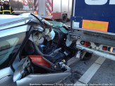 Ongeval A2 Vrachtoauto-Auto 077