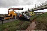 2012_04_15 Auto over de kop A2 Nederweert 148