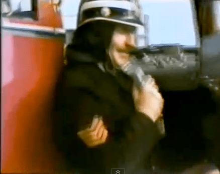 Brandweer nostalgie uit 1980