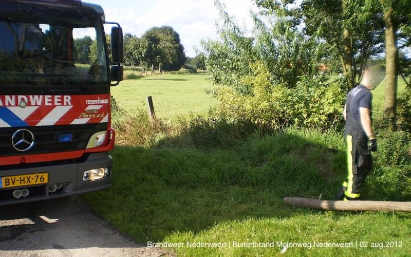 Buitenbrand aan Molenweg/Sint Sebastiaankapelstraat Nederweert