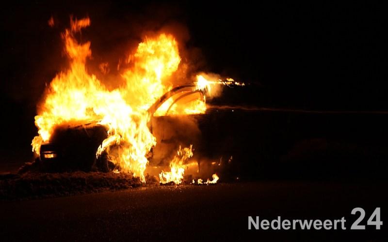 Autobrand Houtsberg Nederweert