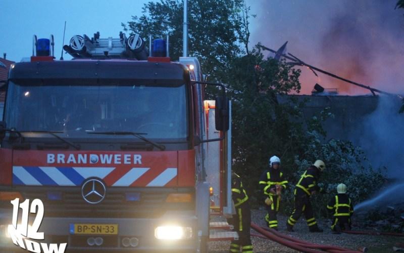 Zeer grote brand Nederweert