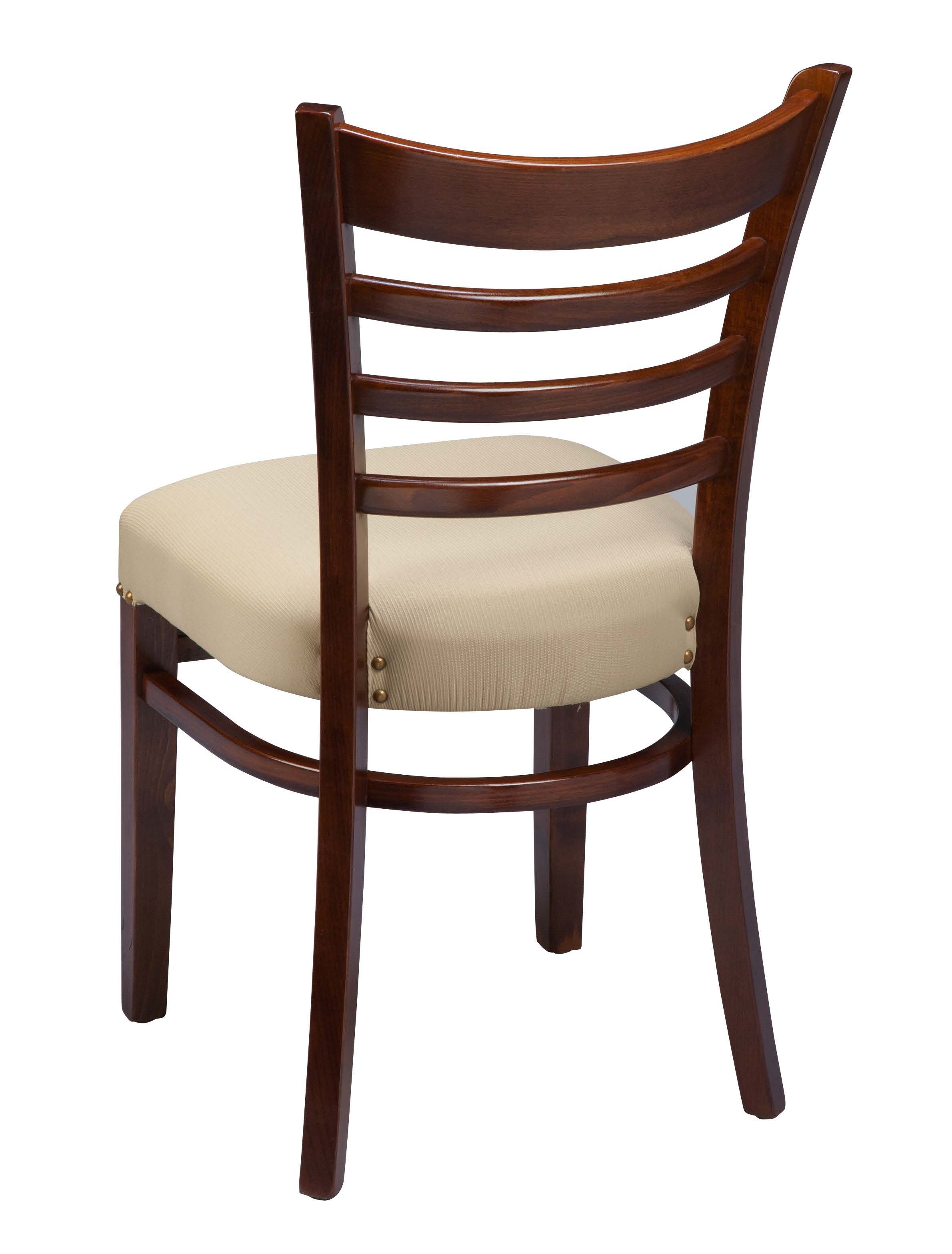 kitchen chairs wood flip out adults regal 412fus ladder back chair by