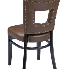Swivel Chair Regal Office Seat Covers Black 426fus Padded Back Wood Dining