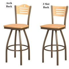 Swivel Chair Regal Metal Folding Patio Bistro Target 3316w Barstool Steel Frame