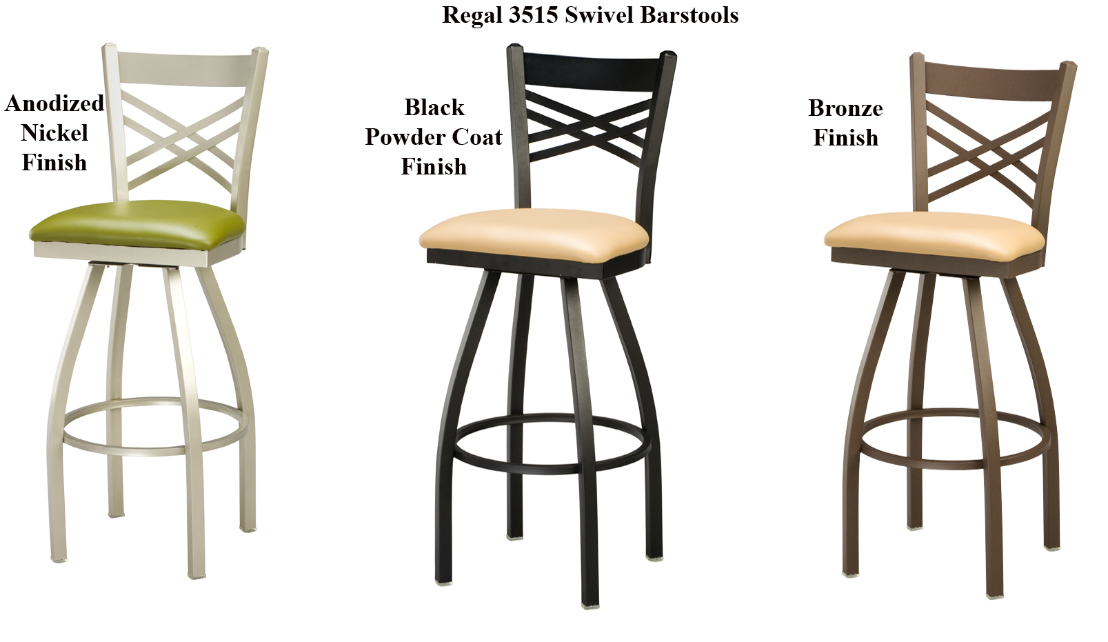 swivel chair regal high chairs in egypt 3515 barstool steel frame metal barstools