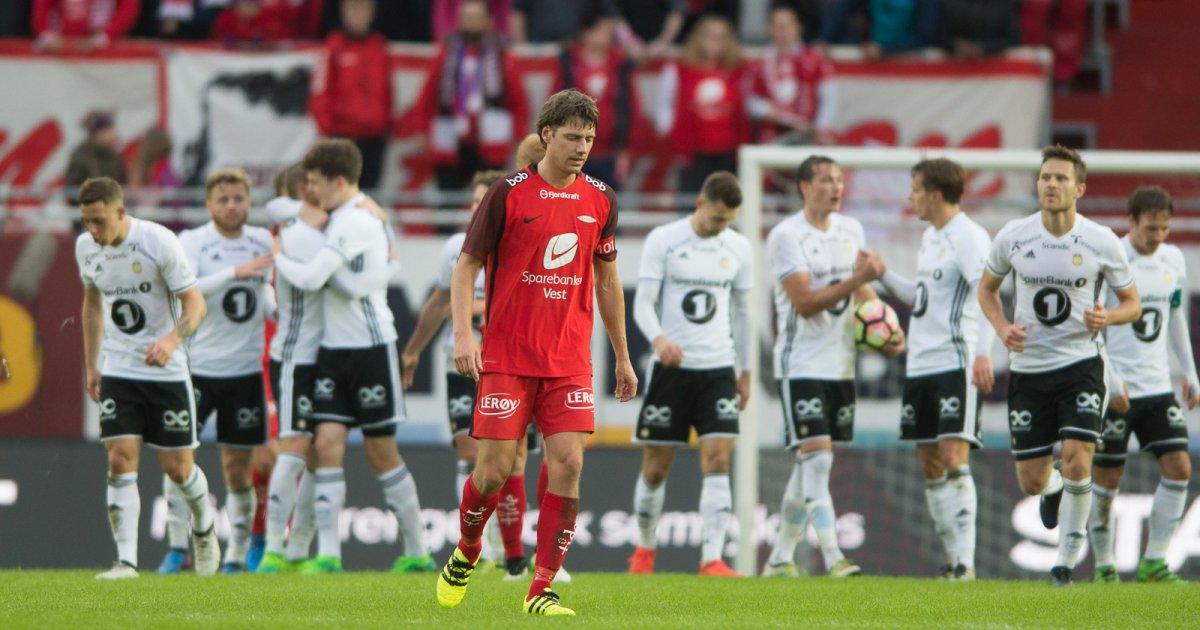 Rosenborg Ble For Sterke Brann