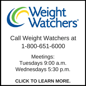 Weight Watchers Branson, Weight Watchers Hollister, Branson-Hollister Senior Center