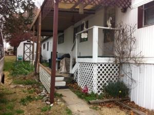 Home Depot Project Helping Veteran - Before - Branson-Hollister Senior Center