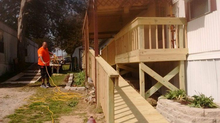 Home Depot Project Helping Veteran - After - Branson-Hollister Senior Center