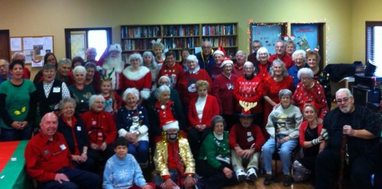 Branson Hollister Senior Center - 2017 Christmas Party