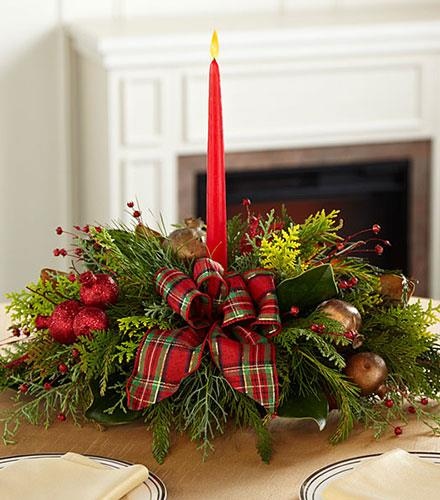 Fall Succulent Wallpaper Christmas Callings Holiday Greenery With Candle Ftd