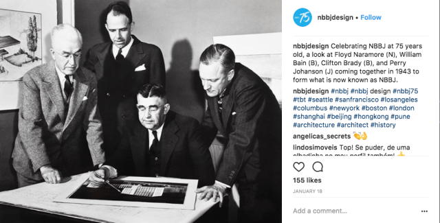 Instagram for Architects