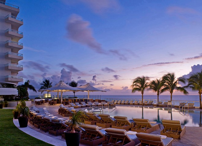 A - Resort photography at sunrise of The Ritz Carlton Ft. Lauderdale