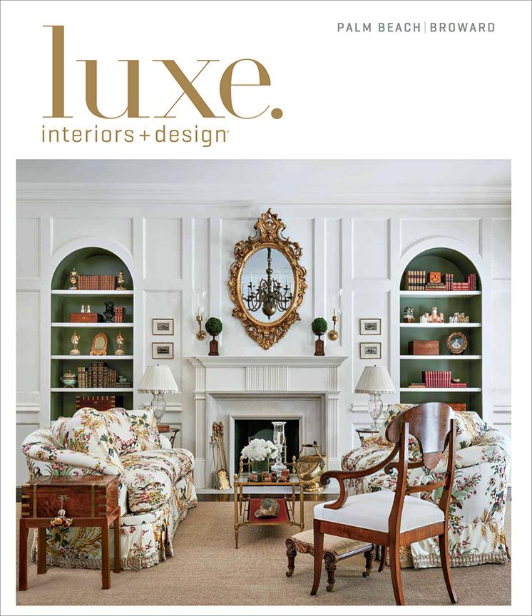 Palm Beach Interior Design Cover Feature